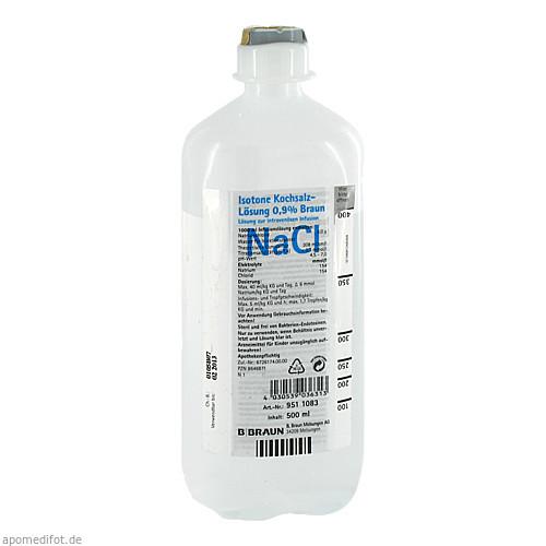Isot.Natriumchlorid 0.9% Lös. Ecoflac Plus, 500 ML, B. Braun Melsungen AG