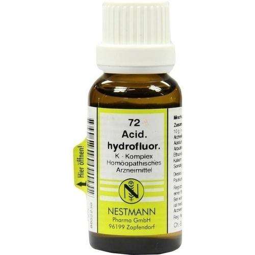 Acidum Hydrofluor K KOM 72, 20 ML, Nestmann Pharma GmbH