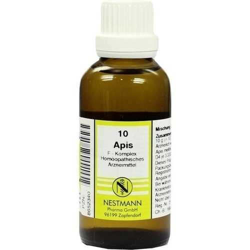 Apis F Kompl 10, 50 ML, Nestmann Pharma GmbH