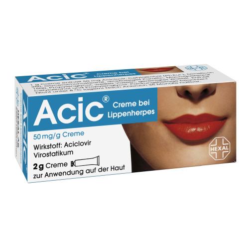 ACIC Creme bei Lippenherpes, 2 G, Hexal AG