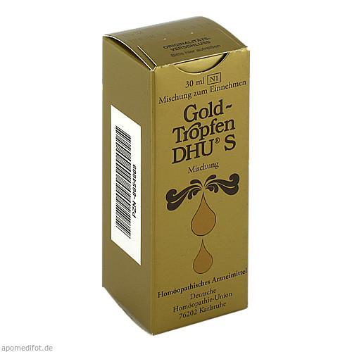 GOLDTROPFEN DHU S, 30 ML, Dhu-Arzneimittel GmbH & Co. KG
