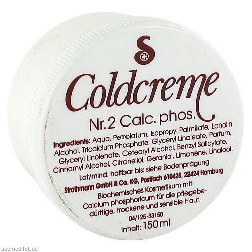 COLDCREME NR 2 Calc. phos, 150 ML, Strathmann GmbH & Co. KG