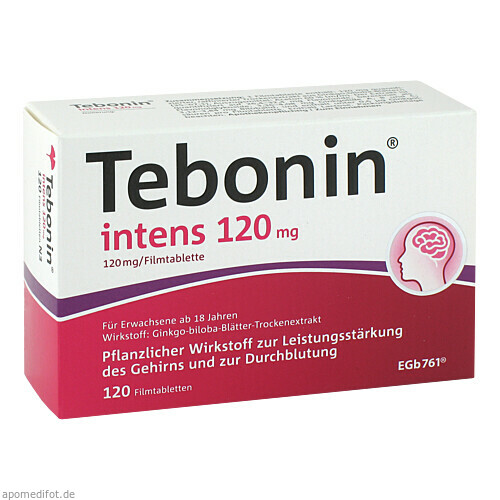 Tebonin intens 120mg, 120 ST, Dr.Willmar Schwabe GmbH & Co. KG