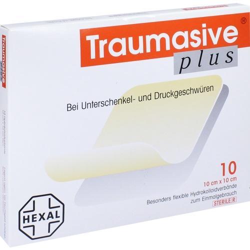 Traumasive Plus 10x10cm, 10 ST, HEXAL AG