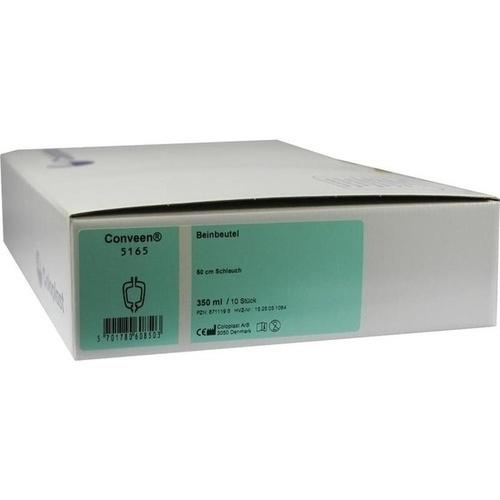 CONVEEN Beinbtl.350 ml 5165 50 cm Schlauch, 10 ST, Coloplast GmbH