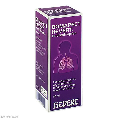 BOMAPECT Hevert Hustentropfen, 50 ML, Hevert Arzneimittel GmbH & Co. KG