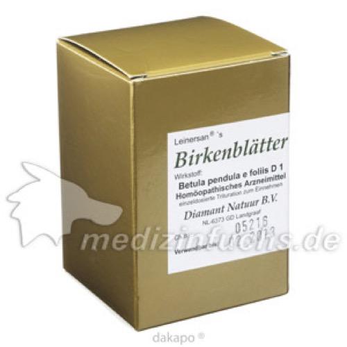 Birkenblätter, 60 ST, Diamant Natuur GmbH