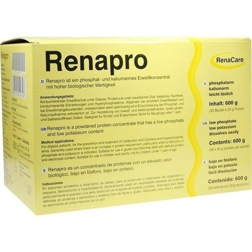 Renapro Pulver, 30X20 G, Renacare Nephromed GmbH