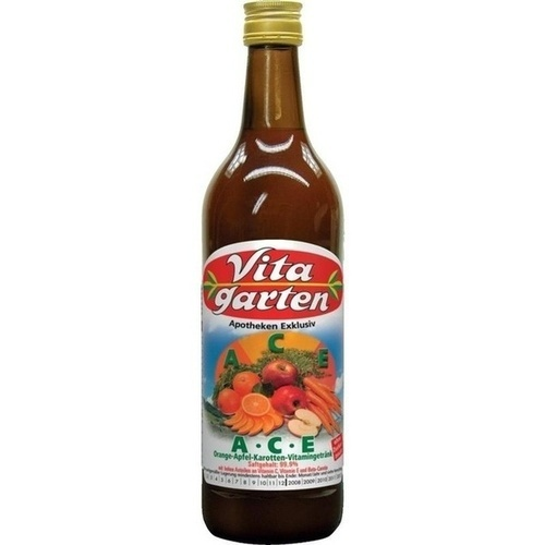 Vitagarten A C E Vitamingetränk Apfel-Orange-Karot, 750 ML, Obstsaftkelterei