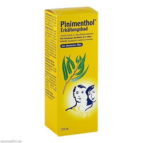 PINIMENTHOL Erkältungsbad, 125 ML, Dr.Willmar Schwabe GmbH & Co.KG