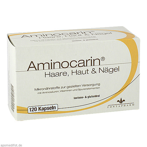 Aminocarin Kapseln, 120 ST, Fontapharm AG
