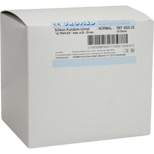 Kondomurinal Silikon Natural 25mm 4920, 30 ST, Uromed Kurt Drews KG