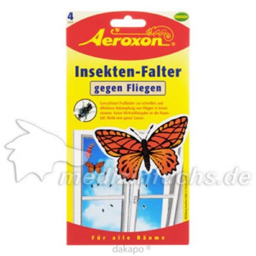 Aeroxon Insekten Falter, 4 ST, Aeroxon Insect Control GmbH