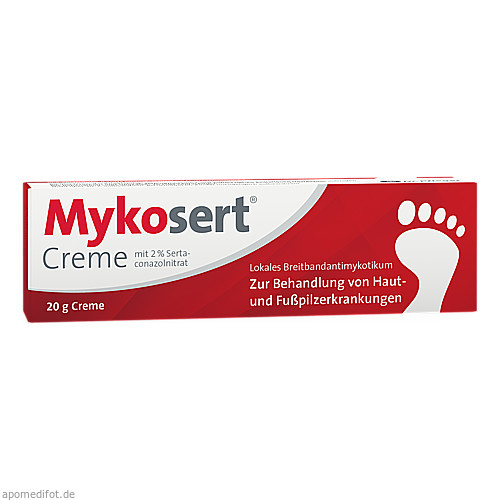 Mykosert Creme, 20 G, Dr.R.Pfleger GmbH