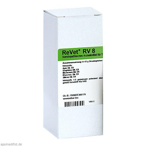 REVET RV 8 Globuli vet., 42 G, Dr.RECKEWEG & Co. GmbH