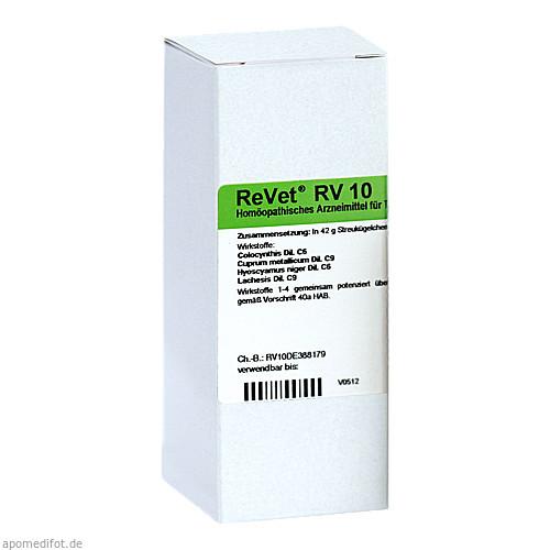 REVET RV 10 Globuli vet., 42 G, Dr.RECKEWEG & Co. GmbH