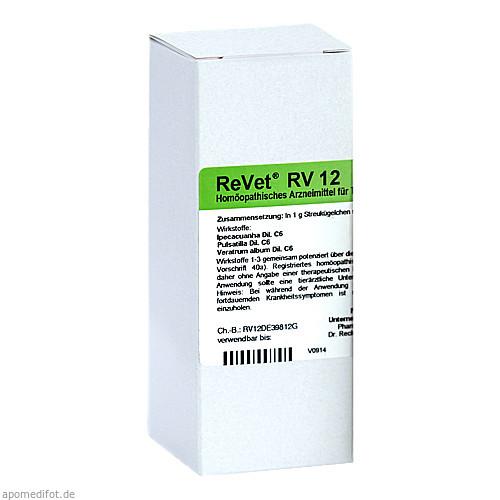 REVET RV 12 Globuli vet., 42 G, Dr.RECKEWEG & Co. GmbH
