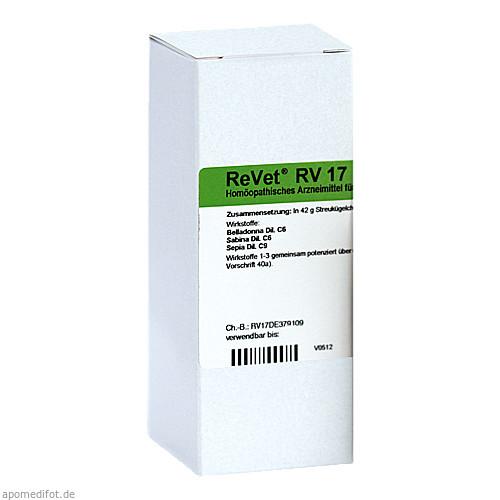 REVET RV 17 Globuli vet., 42 G, Dr.RECKEWEG & Co. GmbH