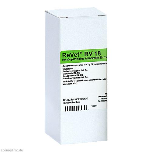 REVET RV 18 Globuli vet., 42 G, Dr.RECKEWEG & Co. GmbH