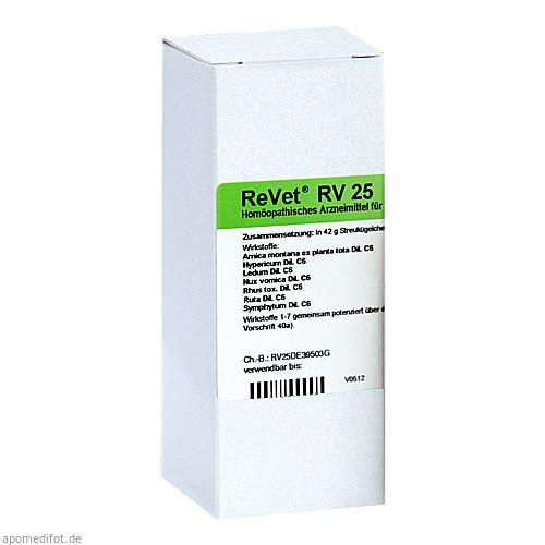 REVET RV 25 Globuli vet., 42 G, Dr.RECKEWEG & Co. GmbH