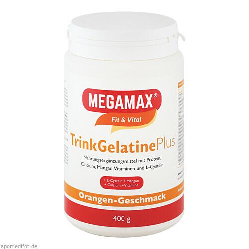 MEGAMAX TrinkGelatine, 400 G, Megamax B.V.