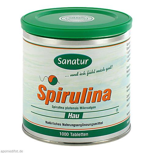 SPIRULINA HAU 400 mg Tabletten, 1000 ST, allcura Naturheilmittel GmbH