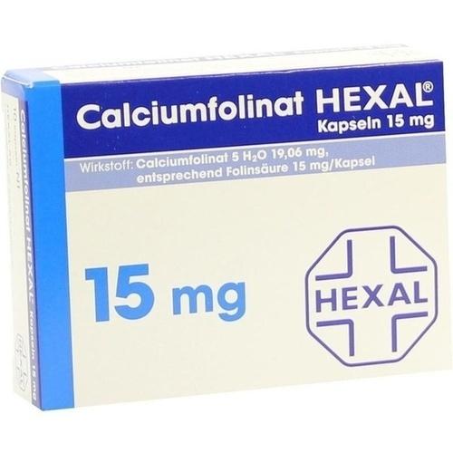 Calciumfolinat 15mg Hexal, 10 ST, HEXAL AG