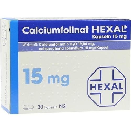 Calciumfolinat 15mg Hexal, 30 ST, HEXAL AG