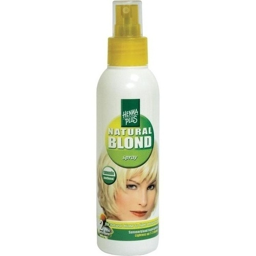 Hennaplus Sommerblond Spray, 150 ML, Frenchtop Natural Care Products B.V