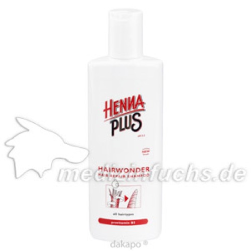 Hennaplus Hairwonder Shampoo, 300 ML, Frenchtop Natural Care Products B.V