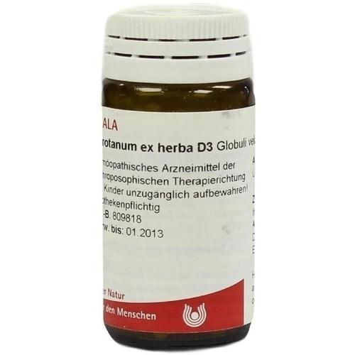 ABROTANUM EX HERBA D 3, 20 G, Wala Heilmittel GmbH
