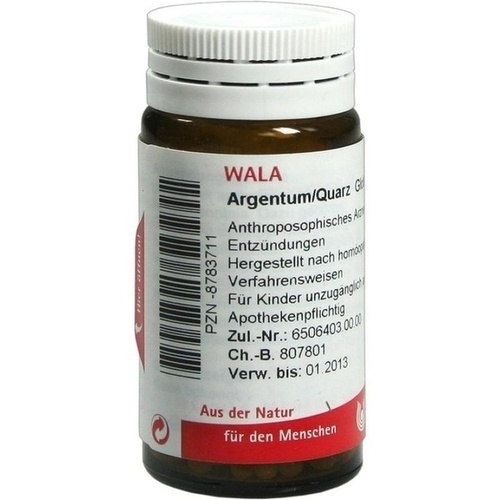 ARGENTUM/QUARZ, 20 G, Wala Heilmittel GmbH