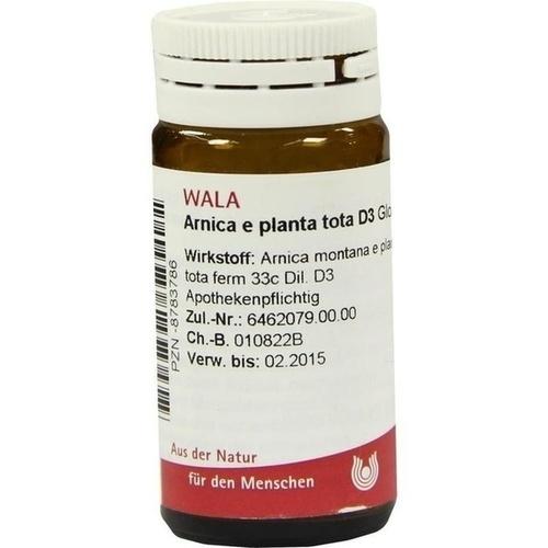 ARNICA E PLANTA TOTA D 3, 20 G, Wala Heilmittel GmbH