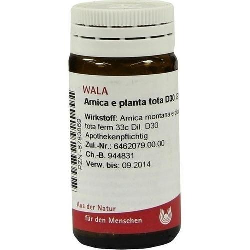 ARNICA E PLANTA TOTA D30, 20 G, Wala Heilmittel GmbH