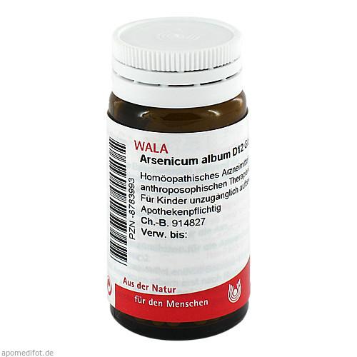ARSENICUM ALB D12, 20 G, Wala Heilmittel GmbH