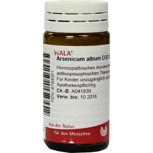ARSENICUM ALB D30, 20 G, Wala Heilmittel GmbH
