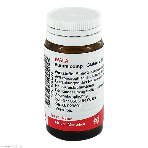 AURUM COMP, 20 G, Wala Heilmittel GmbH
