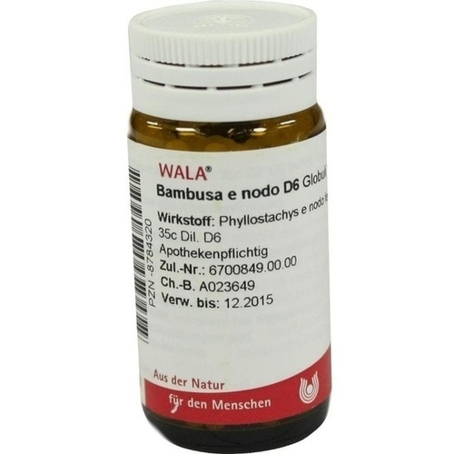 BAMBUSA E NODO D 6, 20 G, Wala Heilmittel GmbH