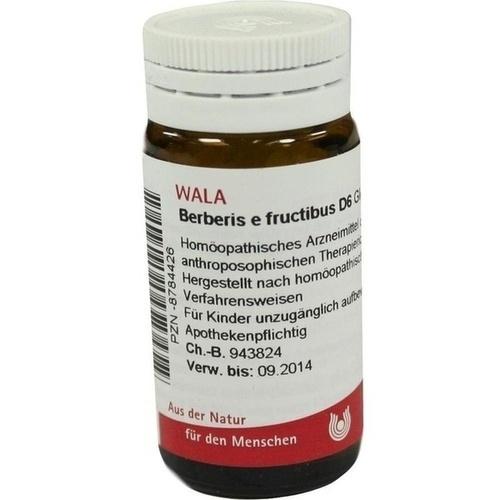 BERBERIS E FRUCTIBUS D 6, 20 G, Wala Heilmittel GmbH
