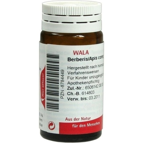 BERBERIS/APIS COMP, 20 G, Wala Heilmittel GmbH