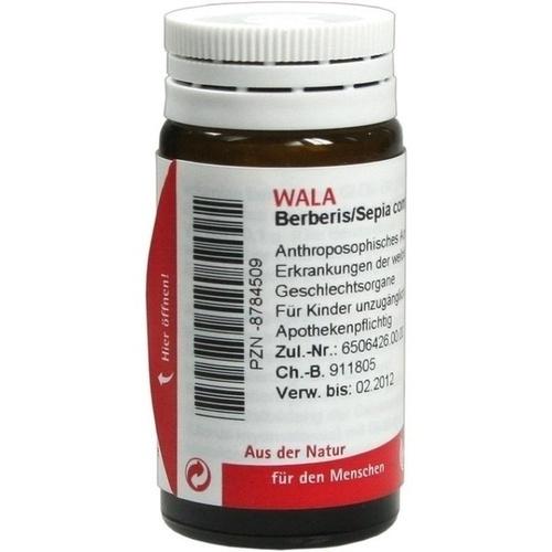 BERBERIS/SEPIA COMP, 20 G, Wala Heilmittel GmbH