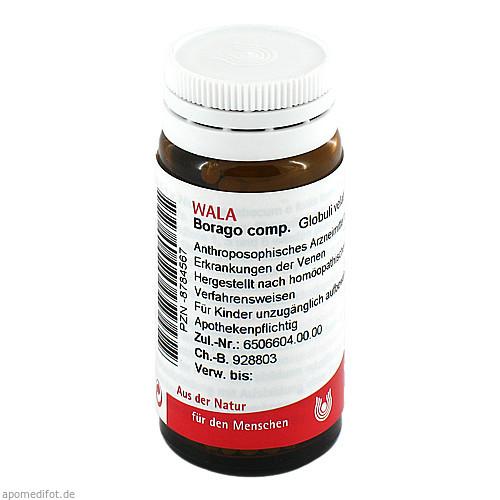 BORAGO COMP, 20 G, Wala Heilmittel GmbH