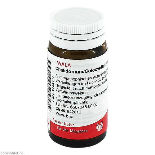 CHELIDONIUM/COLOCYNTHIS, 20 G, Wala Heilmittel GmbH