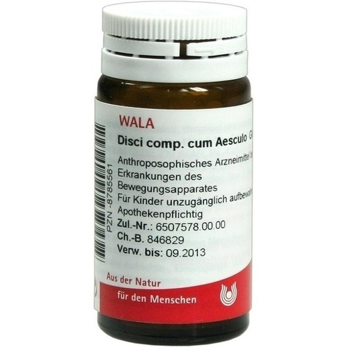 DISCI COMP C AESCULO, 20 G, Wala Heilmittel GmbH