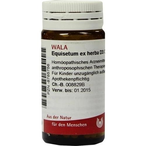 EQUISETUM EX HERBA D 3, 20 G, Wala Heilmittel GmbH