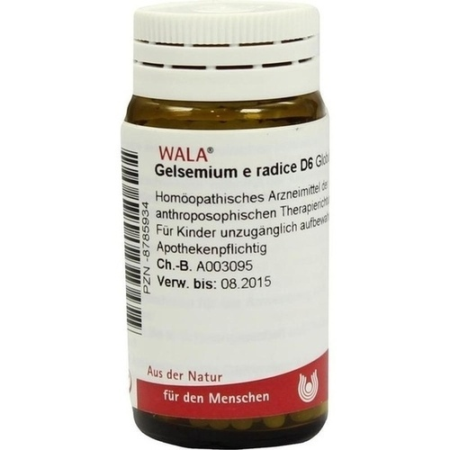 GELSEMIUM E RADICE D 6, 20 G, Wala Heilmittel GmbH