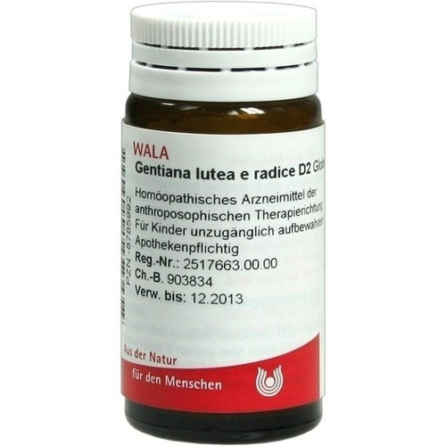 GENTIANA LUTEA E RAD D 2, 20 G, Wala Heilmittel GmbH