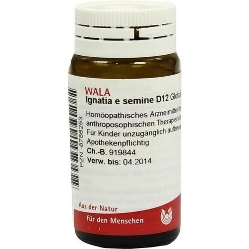 IGNATIA E SEMINE D12, 20 G, Wala Heilmittel GmbH