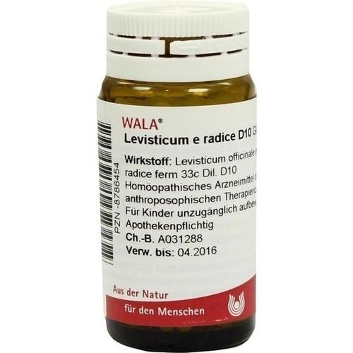 LEVISTICUM E RADICE D10, 20 G, Wala Heilmittel GmbH
