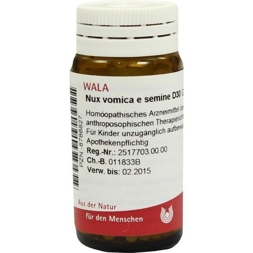 NUX VOMICA E SEMINE D30, 20 G, Wala Heilmittel GmbH